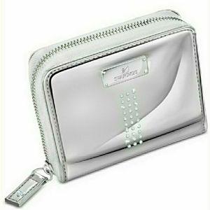 🆕Swarovski Crystal Zip Closure Wallet